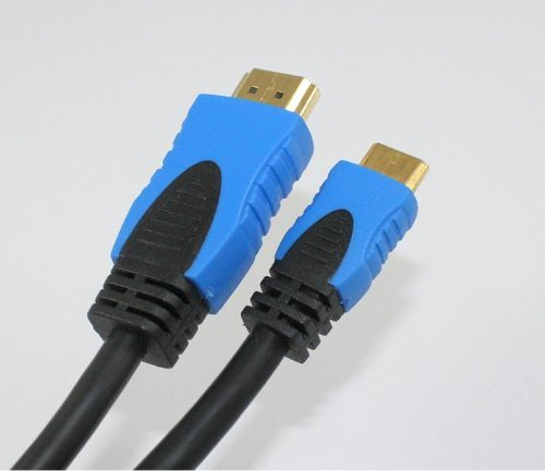 IBRA High Speed Mini HDMI to HDMI cable with Ethernet (1 Meter)