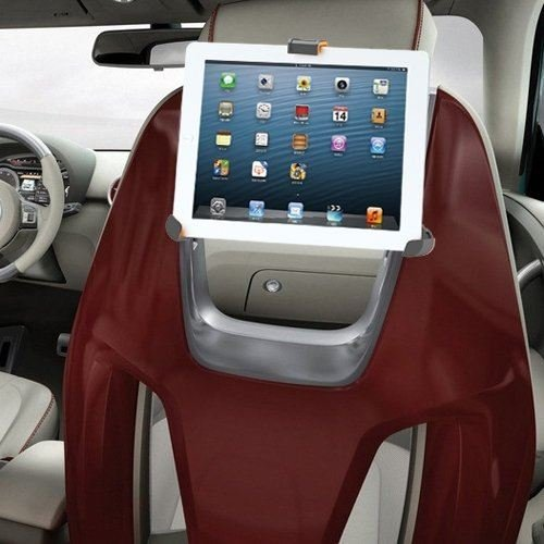 IBRA Apple iPad 1/2/3/4/Air, Galaxy, Android and Tablet PC Universal Car Head Rest / Mount / Holder / Cradle